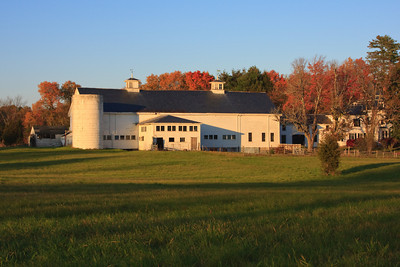 New England Barn at Sunset, North Hampton NH
