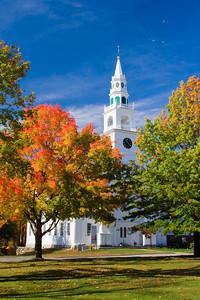 Fall Foliage, Templeton Common, Templeton,Massachusetts