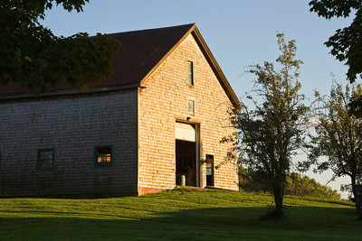 Barn at Sunset, West Newbury MA