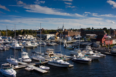 Merrimack River Harborfront, Newburyport, Massachusetts