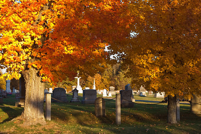 Autumn Leaves, Newfields NH Cemetery