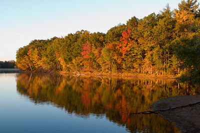 Artichoke Reservoir, West Newbury, Massachusetts