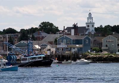 On the Merrimack River, Newburyport, Massachusetts