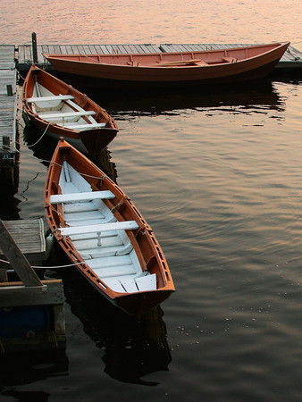 Hand Crafted Wooden Dories at Lowell Boatyard
