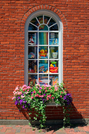 Window Box, Inn Street, Newburyport, Massachusetts