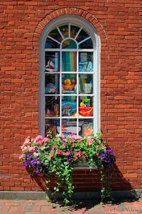 Window Box, Inn Street, Newburyport, Massachusetts