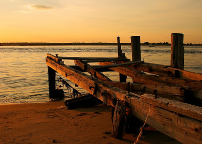 Abandoned Dock, Plum Island, Massachusetts