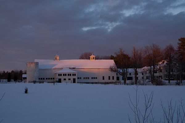 Barn at Dusk, North Hampton NH