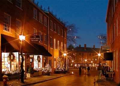 Inn Street Evening, Newburyport, MA