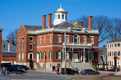 Colonial-era Custom House, Salem, Massachusetts