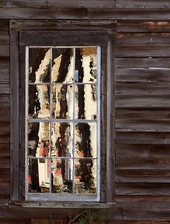 Hand blown window panes, Amesbury MA