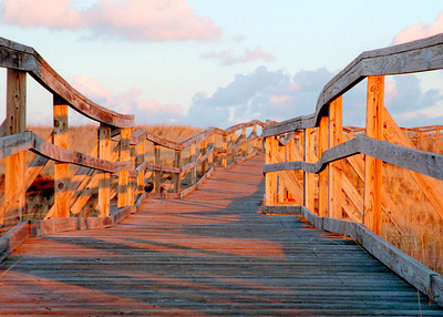 Plum Island Ramp at Sunset