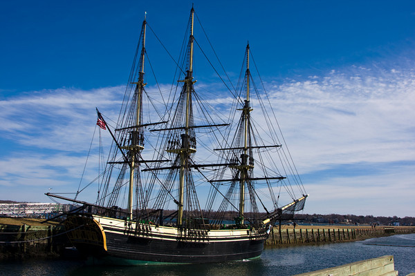 The tall ship Friendship at the Salem Maritime National Historic Site.