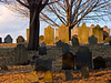 Old Headstones in a Cemetery, Newburyport MA