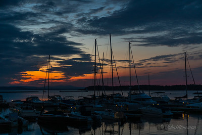 Afterglow - Burlington Waterfront Park