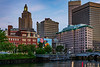 """Rhode Island-Providence-Downtown-""""the Superman Building"""""""