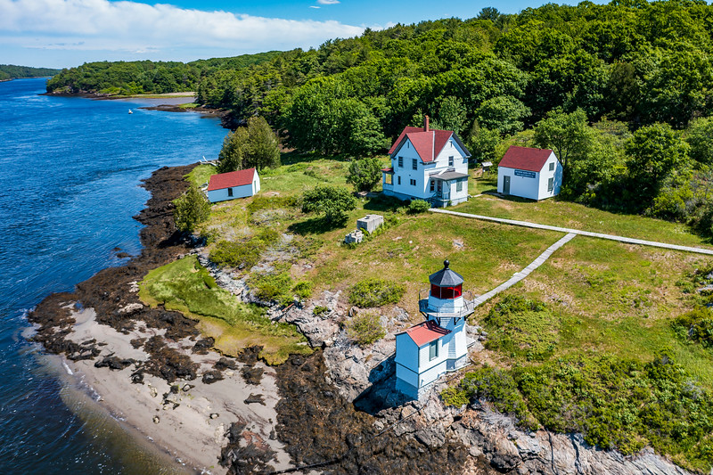 Maine-Arrowsic-Squirrell Point Light