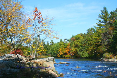 Nashua River at Hollis New Hampshire