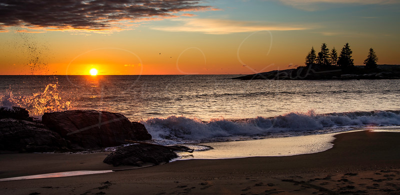 The Sunrise is a Splash