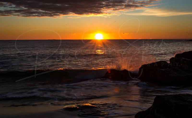 A Splash at Sunrise