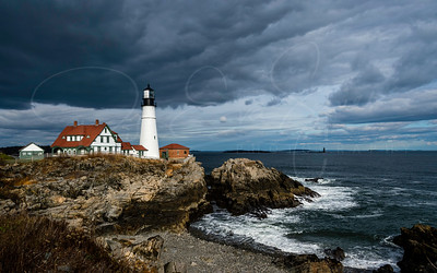 Stormy Portland Head Light