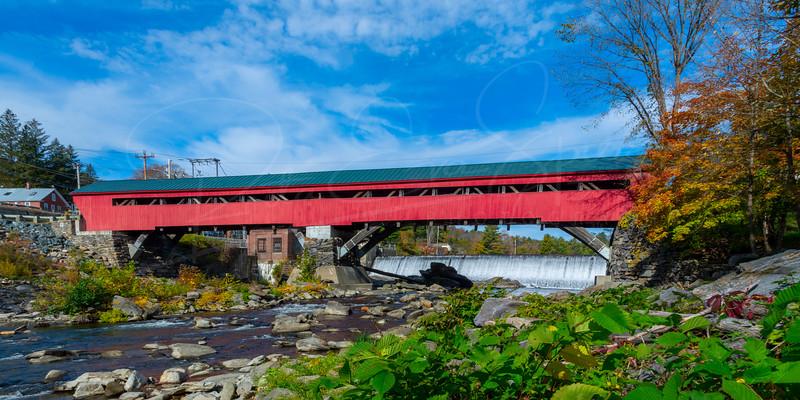 Taftsville Bridge and Falls