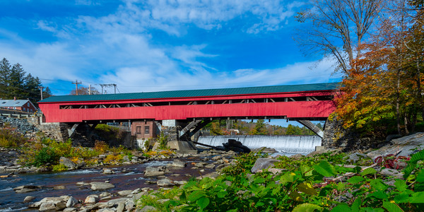 Taftsville Bridge and Falls