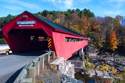 Taftsville Covered Bridge View