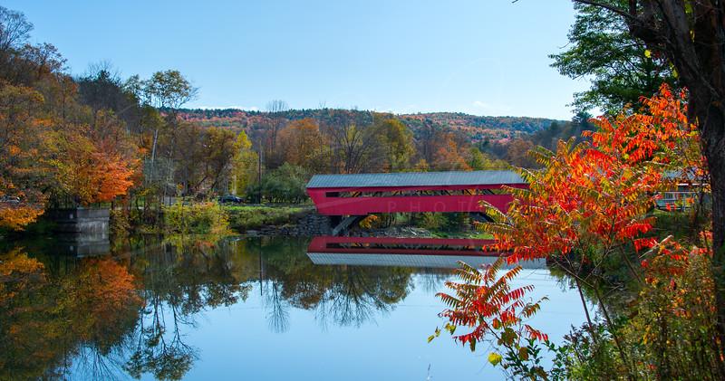 Taftsville Bridge Reflection