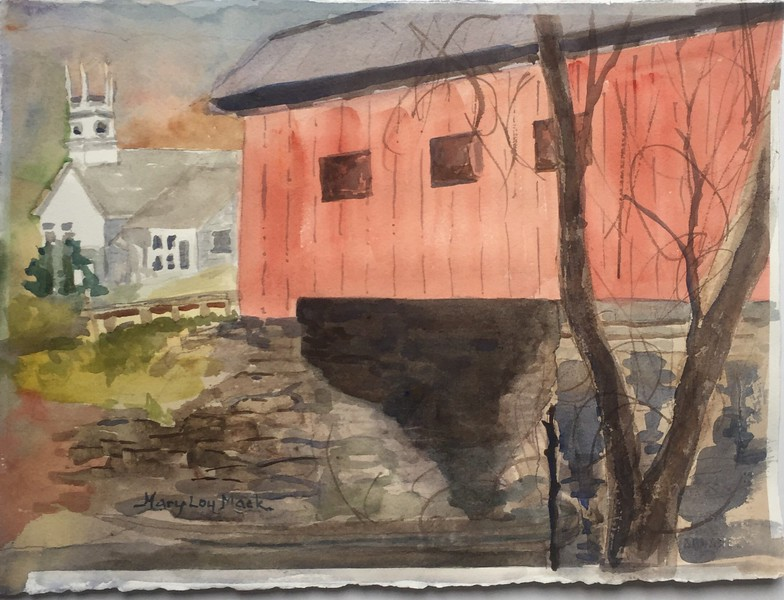 Red Barn in Vermont 2