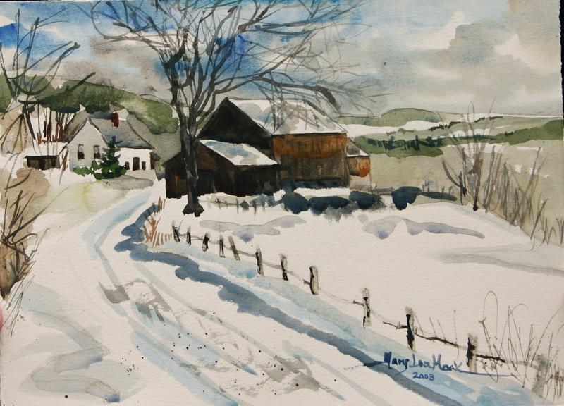 A Winter In Vermont