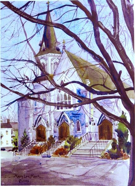 Saint Mary's Church In Holliston,Mass