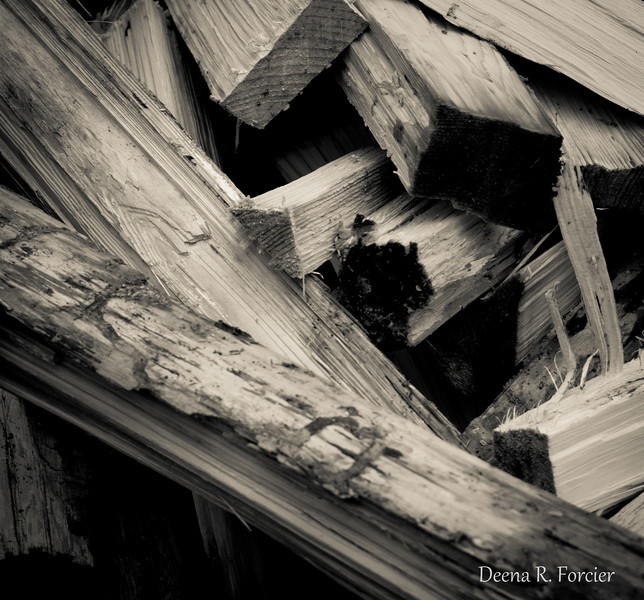 03-12-2011: Wood for sugaring in Vermont
