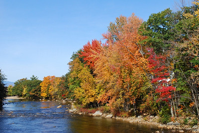 The Pemigewassett River, along the Kancamagus Highway, White Mountains, New Hampshire.