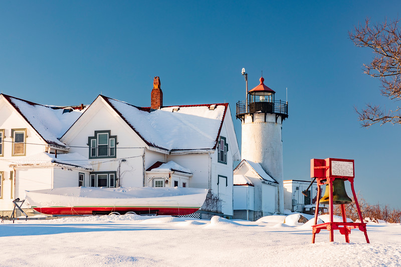 MASSACHUSETTS-GLOUCESTER, EASTERN POINT LIGHT