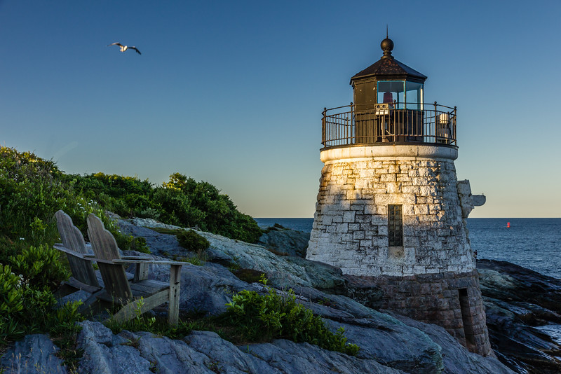 RI-NEWPORT-CASTLE HILL-CASTLE HILL LIGHTHOUSE
