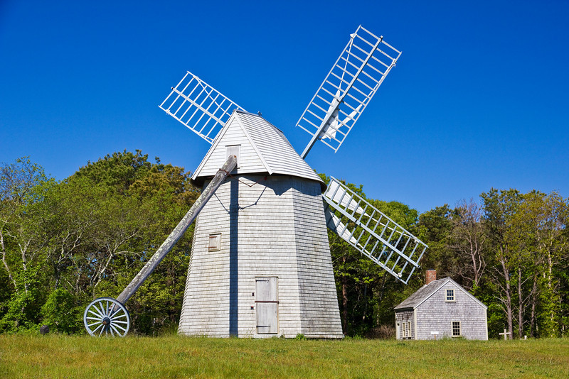 MA-CAPE COD-BREWSTER-WINDMILL-HARRIS BLACK HOUSE