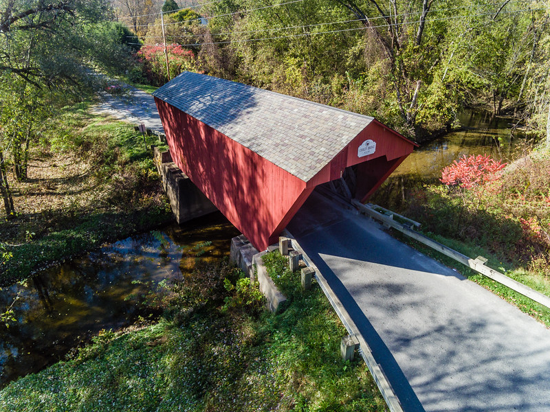 VT-PITTSFORD-COOLEY COVERED BRIDGE