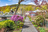 Massachusetts-Shelburne Falls-Bridge of Flowers