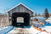 VT-N. HARTLAND-WILLARD AND WILLARD TWIN COVERED BRIDGES