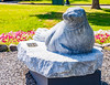Maine-Rockport-Andre the Seal statue