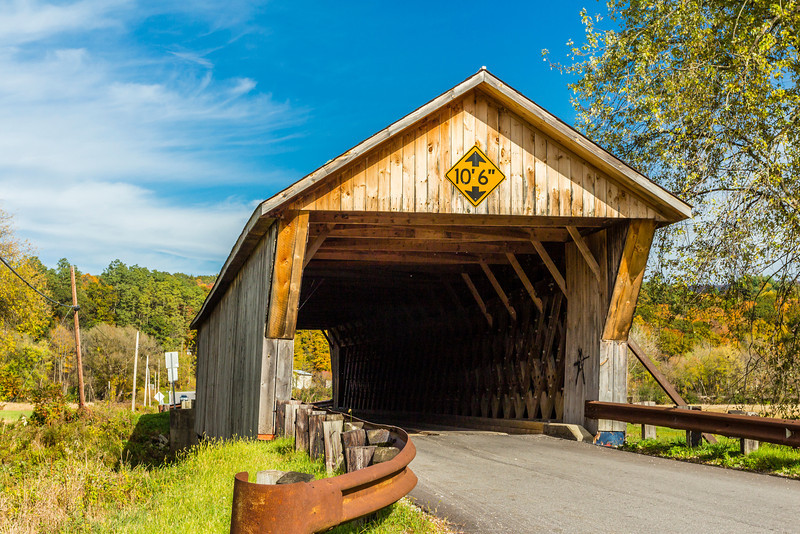 VT-PITTSFORD-DEPOT COVERED BRIDGE