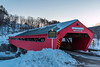 VT-TAFTSVILLE-TRTSVILLE COVERED BRIDGE
