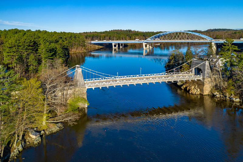MASSACHUSETTS-Newburyport/Amesbury-Chain Bridge [F] Whittier Bridge [R]