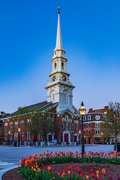 New Hampshire-Portsmouith-Downtown