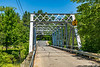 New Hampshire-East Freedom-Huntress Bridge-Ossipee River