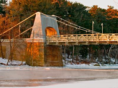 Chain Bridge at sunrise