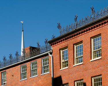 Inn Street roofs