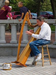 Musician at Waterfront Park