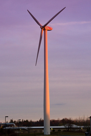 A Wind Mill in the Industrial park